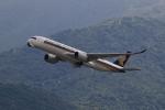 ★azusa★さんが、香港国際空港で撮影したシンガポール航空 A350-941XWBの航空フォト(写真)