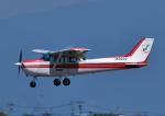 じーく。さんが、佐賀空港で撮影した長崎航空 172P Skyhawkの航空フォト(飛行機 写真・画像)