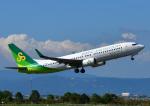 じーく。さんが、佐賀空港で撮影した春秋航空日本 737-86Nの航空フォト(写真)