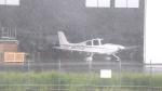 誘喜さんが、鹿児島空港で撮影したジャパン・ジェネラル・アビエーション・サービス SR20の航空フォト(写真)