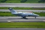 シュウさんが、成田国際空港で撮影したジャプコン 525 Citation M2の航空フォト(写真)