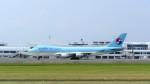 Koj-skadb2116さんが、鹿児島空港で撮影した大韓航空 747-4B5F/ER/SCDの航空フォト(写真)