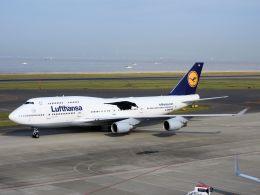 White Pelicanさんが、中部国際空港で撮影したルフトハンザドイツ航空 747-430の航空フォト(飛行機 写真・画像)