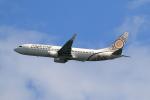★azusa★さんが、香港国際空港で撮影したミャンマー・ナショナル・エアウェイズ 737-86Nの航空フォト(写真)