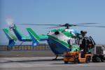 神宮寺ももさんが、神戸空港で撮影した兵庫県消防防災航空隊 BK117C-2の航空フォト(写真)