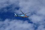 はやっち!さんが、山形空港で撮影した山形県警察 A109E Powerの航空フォト(写真)