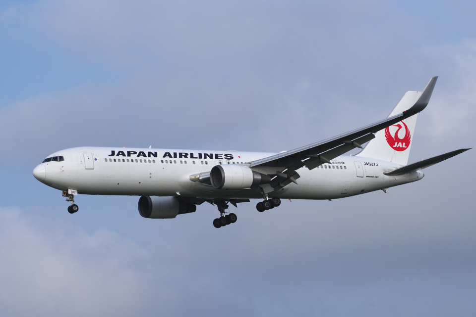 yabyanさんの日本航空 Boeing 767-300 (JA607J) 航空フォト