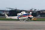 syo12さんが、函館空港で撮影した国土交通省 地方整備局 412EPの航空フォト(写真)