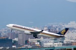 スカイチームKMJ なぁちゃんさんが、福岡空港で撮影したシンガポール航空 A330-343Xの航空フォト(写真)