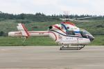 西風さんが、大館能代空港で撮影した朝日新聞社 MD 900/902の航空フォト(写真)