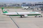 キイロイトリさんが、関西国際空港で撮影したエバー航空 A321-211の航空フォト(写真)