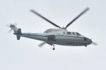 500さんが、自宅上空で撮影したエクセル航空 S-76A+の航空フォト(写真)