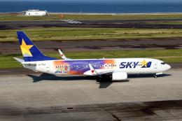 なごやんさんが、中部国際空港で撮影したスカイマーク 737-81Dの航空フォト(写真)
