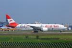 meron panさんが、成田国際空港で撮影したオーストリア航空 777-2Q8/ERの航空フォト(写真)