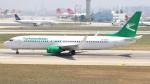 誘喜さんが、アタテュルク国際空港で撮影したトルクメニスタン航空 737-82Kの航空フォト(写真)