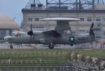 れんしさんが、岩国空港で撮影したアメリカ海軍 E-2D Advanced Hawkeyeの航空フォト(写真)