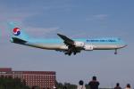 yabyanさんが、成田国際空港で撮影した大韓航空 747-8B5F/SCDの航空フォト(飛行機 写真・画像)