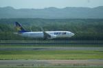 FRTさんが、新千歳空港で撮影したスカイマーク 737-8HXの航空フォト(飛行機 写真・画像)
