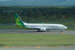 FRTさんが、新千歳空港で撮影した春秋航空日本 737-8ALの航空フォト(飛行機 写真・画像)