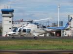 ランチパッドさんが、東京ヘリポートで撮影した日本デジタル研究所(JDL) AW109SPの航空フォト(写真)