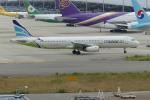 うすさんが、関西国際空港で撮影したエアプサン A321-231の航空フォト(写真)