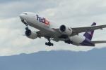 うすさんが、関西国際空港で撮影したフェデックス・エクスプレス 777-FS2の航空フォト(写真)