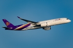Ariesさんが、関西国際空港で撮影したタイ国際航空 A350-941XWBの航空フォト(写真)