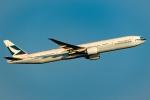 Ariesさんが、関西国際空港で撮影したキャセイパシフィック航空 777-367/ERの航空フォト(写真)