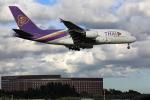 wtb11_ksさんが、成田国際空港で撮影したタイ国際航空 A380-841の航空フォト(写真)