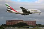 wtb11_ksさんが、成田国際空港で撮影したエミレーツ航空 A380-861の航空フォト(写真)