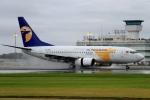 ウッディーさんが、鹿児島空港で撮影したMIATモンゴル航空 737-71Mの航空フォト(写真)