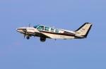 Tomo_mcz_lgmさんが、大分空港で撮影した岡山航空 58 Baronの航空フォト(写真)