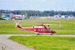 hidetsuguさんが、札幌飛行場で撮影した山形県消防防災航空隊 AW139の航空フォト(写真)