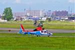hidetsuguさんが、札幌飛行場で撮影した川崎市消防航空隊 AS365N3 Dauphin 2の航空フォト(写真)
