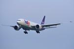 yabyanさんが、成田国際空港で撮影したフェデックス・エクスプレス 777-FHTの航空フォト(飛行機 写真・画像)
