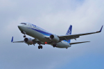 yabyanさんが、成田国際空港で撮影した全日空 737-881の航空フォト(飛行機 写真・画像)