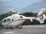 ランチパッドさんが、静岡ヘリポートで撮影した静岡エアコミュータ EC135T2の航空フォト(写真)
