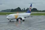 M.Ochiaiさんが、鹿児島空港で撮影したMIATモンゴル航空 737-71Mの航空フォト(写真)