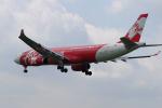 yabyanさんが、成田国際空港で撮影したインドネシア・エアアジア・エックス A330-343Xの航空フォト(飛行機 写真・画像)
