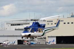 ヘリオスさんが、東京ヘリポートで撮影した朝日航洋 412の航空フォト(飛行機 写真・画像)