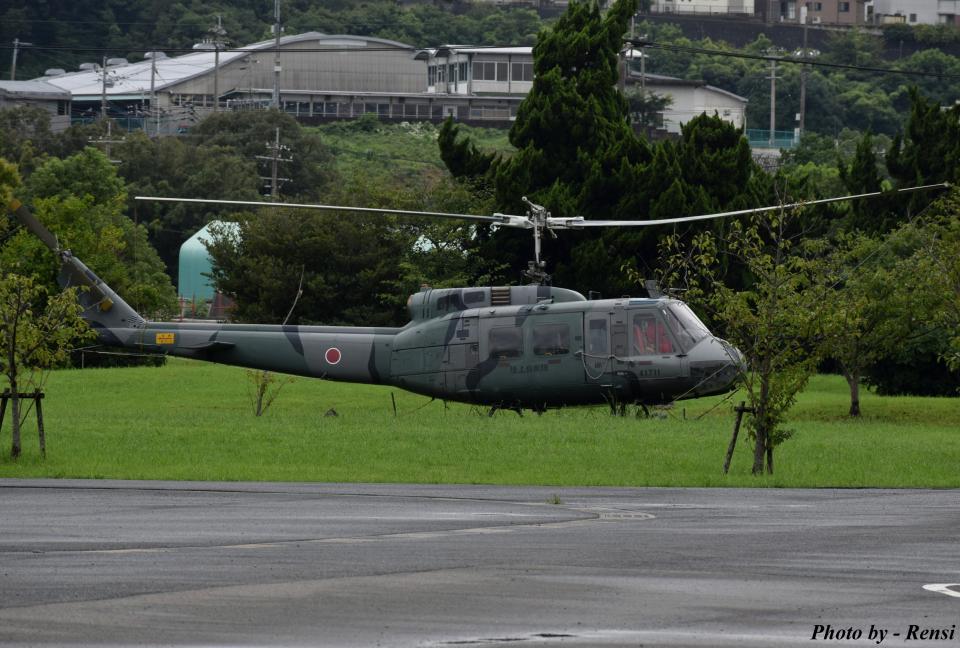 れんしさんの陸上自衛隊 Fuji UH-1H (41711) 航空フォト