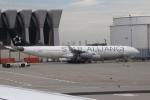 sky-spotterさんが、フランクフルト国際空港で撮影したルフトハンザドイツ航空 A340-313Xの航空フォト(写真)
