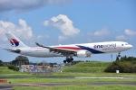 ユウイチ22さんが、成田国際空港で撮影したマレーシア航空 A330-323Xの航空フォト(写真)