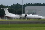 ウッディーさんが、鹿児島空港で撮影した日本エアコミューター DHC-8-402Q Dash 8の航空フォト(写真)