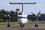 マリオ先輩さんが、横田基地で撮影したアメリカ企業所有 DHC-8-315B Dash 8の航空フォト(写真)