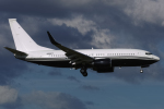 shootingstarさんが、成田国際空港で撮影したアメリカ企業所有 737-7JR BBJの航空フォト(写真)