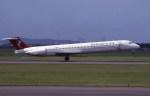 kumagorouさんが、仙台空港で撮影したハーレクィンエア MD-81 (DC-9-81)の航空フォト(飛行機 写真・画像)