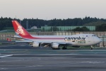 宮崎 育男さんが、成田国際空港で撮影したカーゴルクス・イタリア 747-4R7F/SCDの航空フォト(写真)