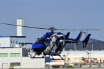 くれないさんが、徳島空港で撮影した徳島県消防防災航空隊 BK117C-2の航空フォト(飛行機 写真・画像)