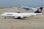 きんめいさんが、中部国際空港で撮影したルフトハンザドイツ航空 747-430の航空フォト(写真)